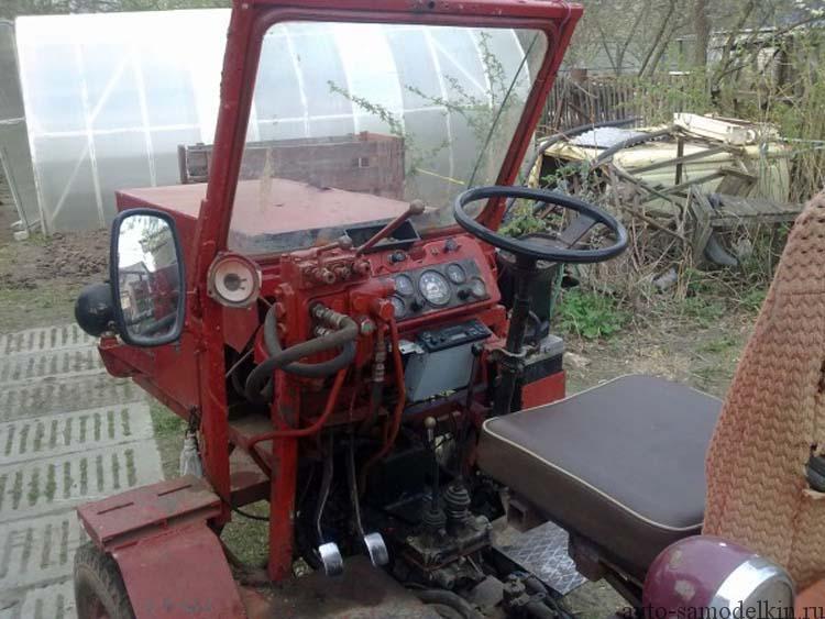 трактор самоделка фото