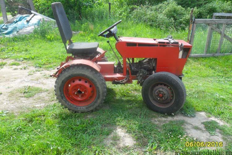 трактор собранный в домашних условиях