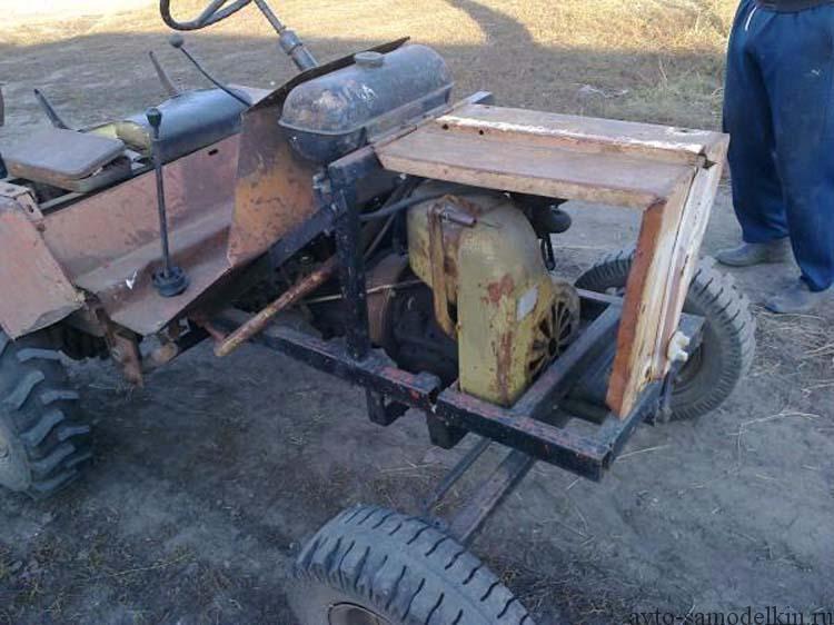 двигатель УД-1 на трактор