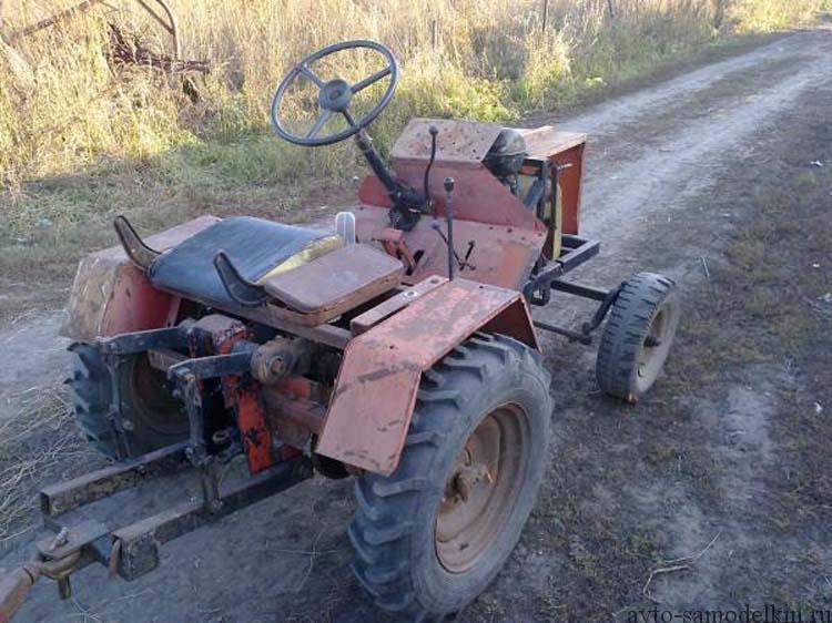 трактор самодельный двигатель уд