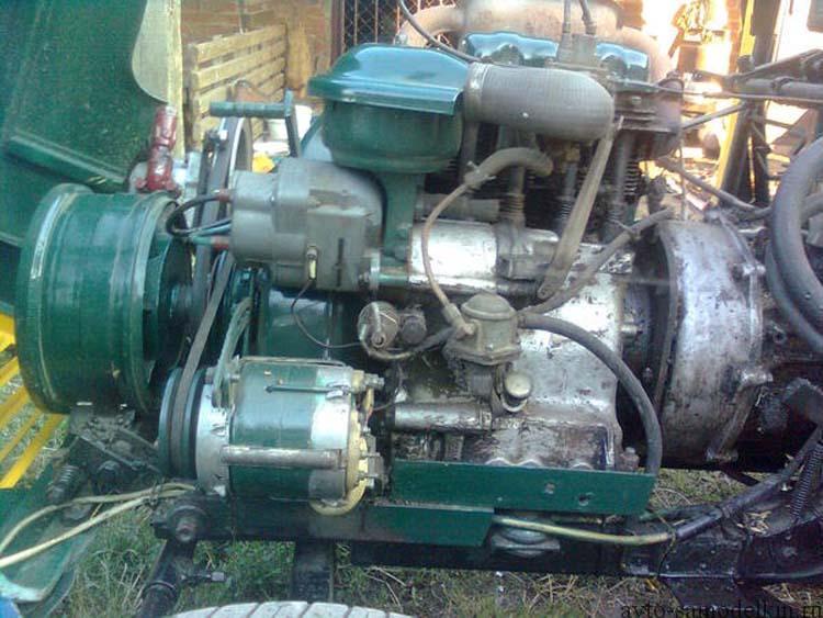 трактор самодельный фото