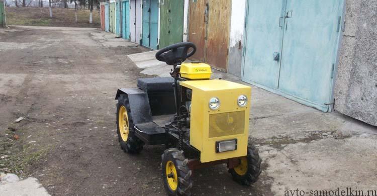 мини трактор своими руками фото
