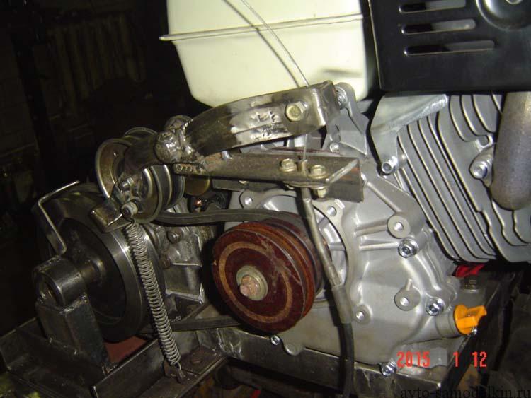 Минитрактор своими руками с двигателем от мотоблока фото 262