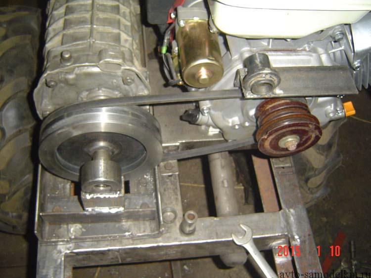 Минитрактор своими руками с двигателем от мотоблока фото 374