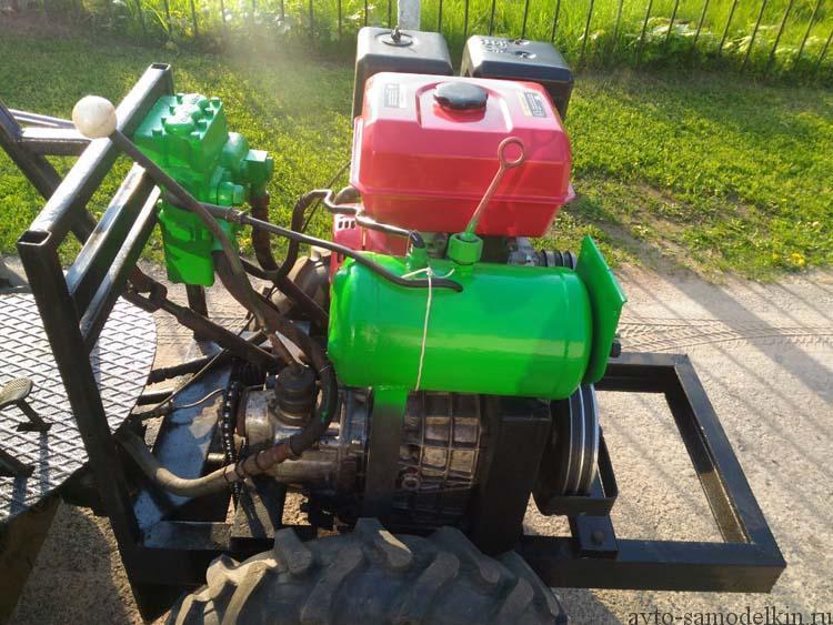 двигатель мини трактора