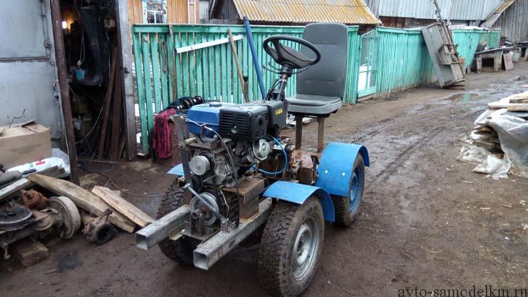 переломка трактор