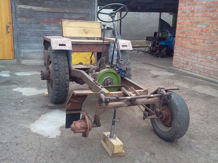 делаем трактор своими руками