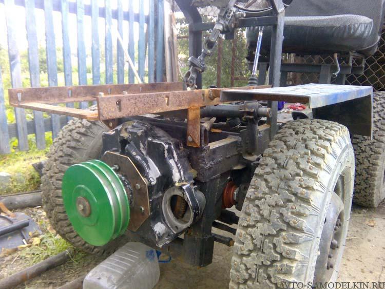 постройка трактора