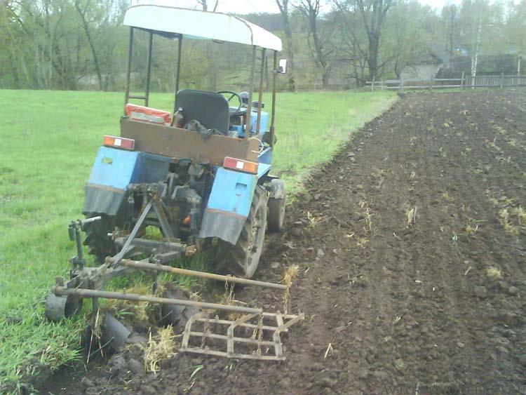 самодельный трактор с двигателем ваз
