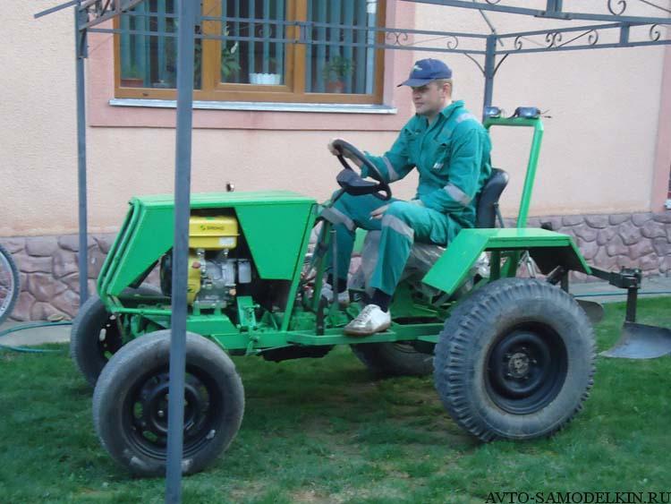 мой самодельный трактор