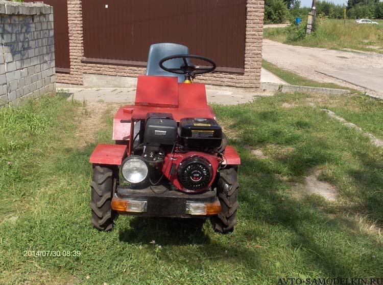 мини трактор сделанный своими руками