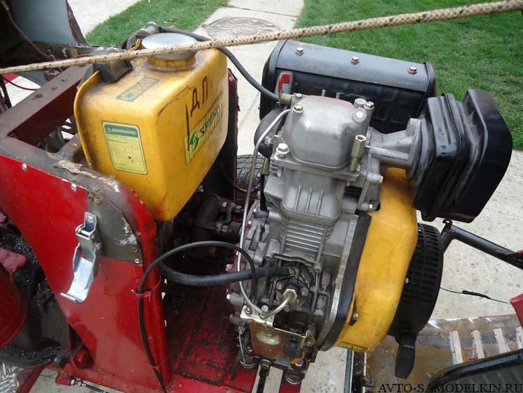 дизельный двигатель на трактор