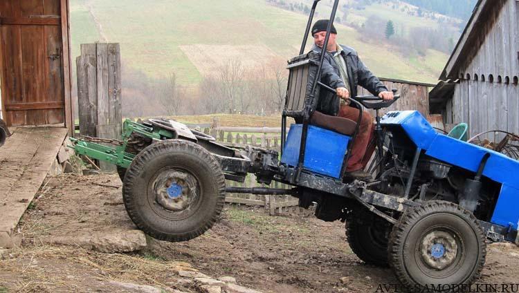трактор переломка