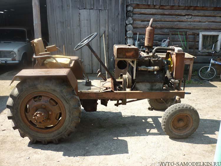самодельный трактор своими руками