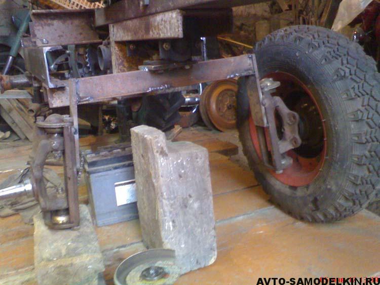 постройка мини трактора