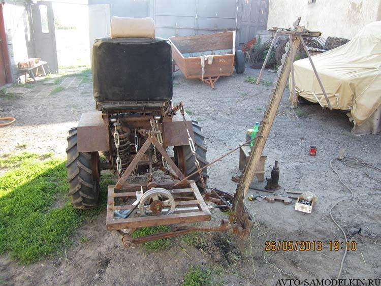 сенокосилка для трактора