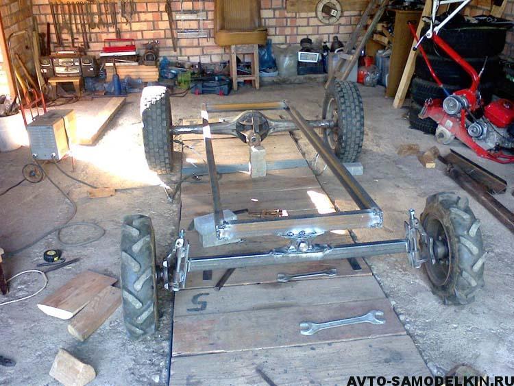 рама мини трактора
