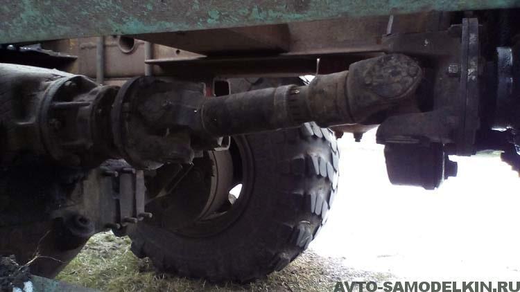 Трактор на базе КрАЗ
