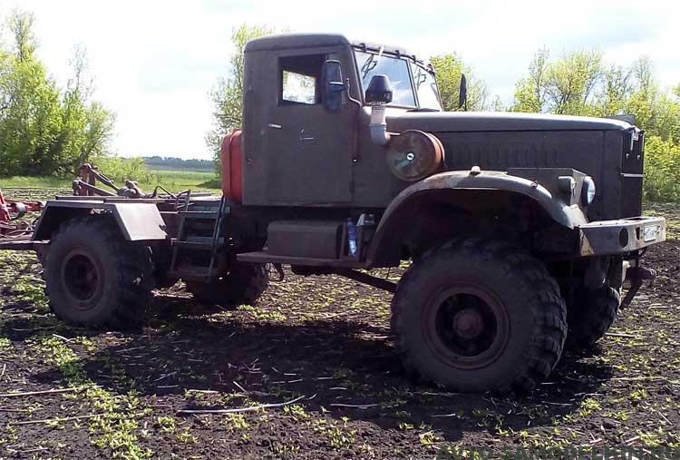 Самоделка трактор из КрАЗа