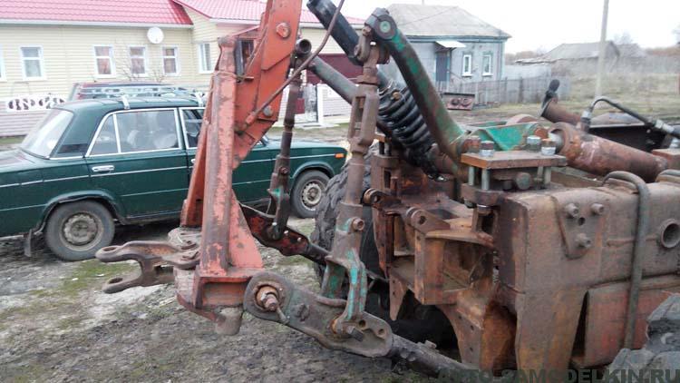 Трактор из КрАЗ своими руками