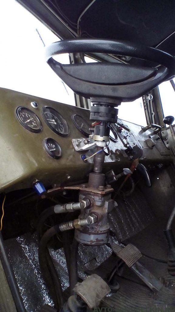 сделал Трактор из КрАЗ-255