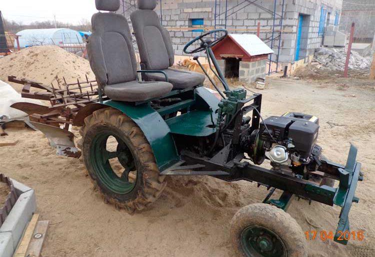 Восстановление трактора