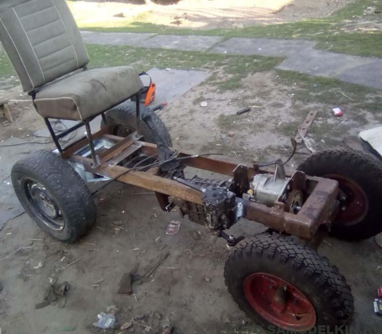 делаю трактор