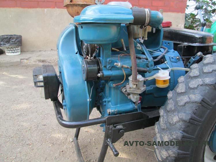 двигатель УД-15 на мотоблок