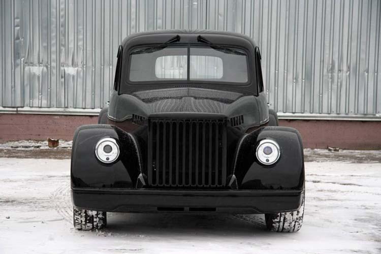 самодельный автомобиль пикап ГАЗ-51