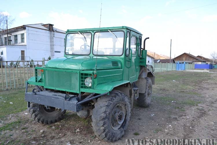 Самодельный трактор на базе ГАЗ-66