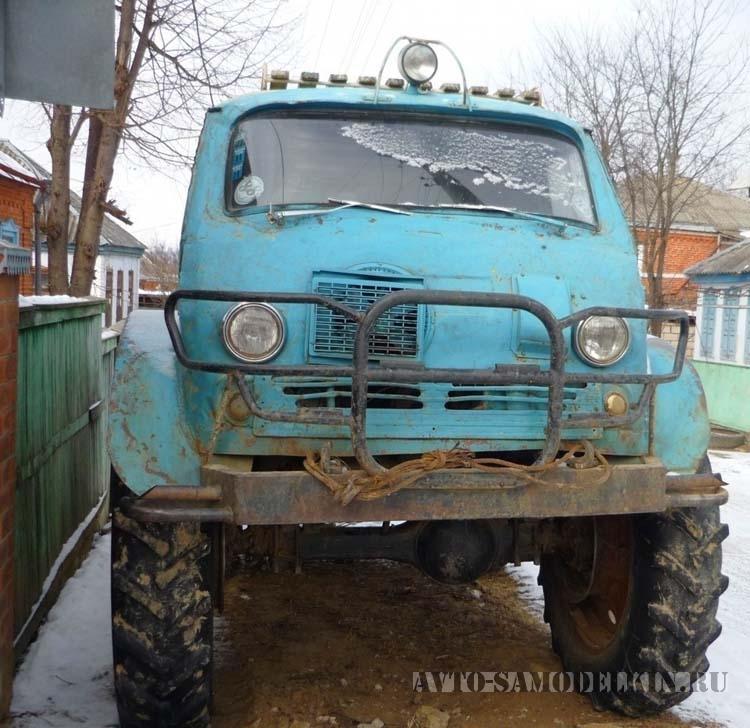 Самодельный вездеход с кузовом ЕрАЗ-762