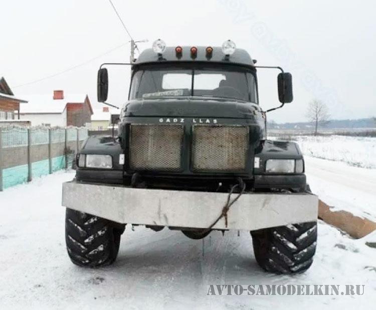 авто самоделка ЗИЛ-131