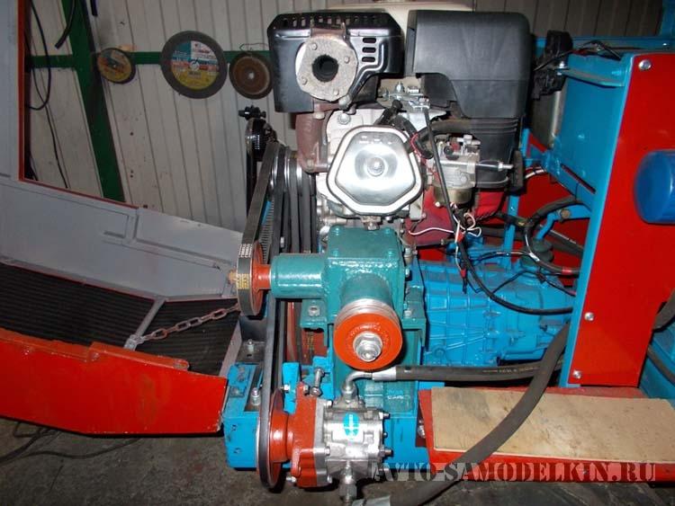 самодельный угловой редуктор для трактора
