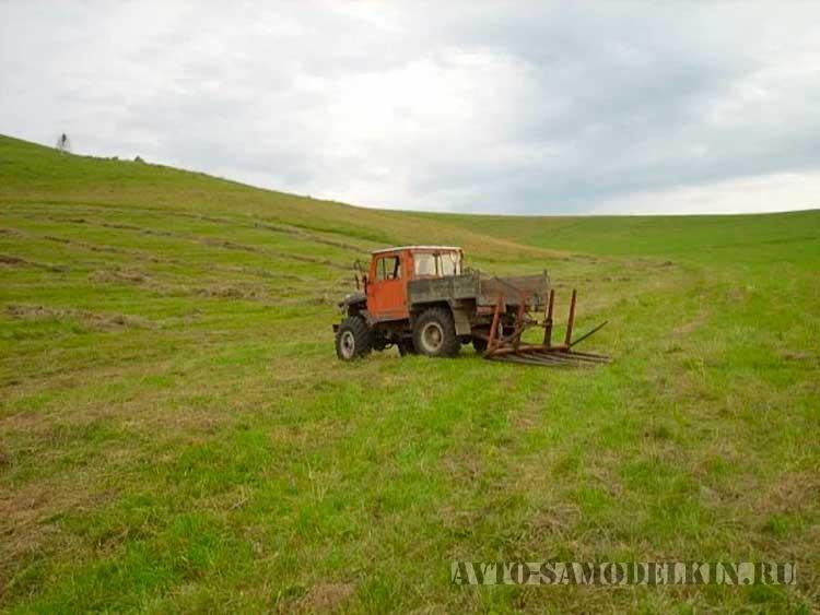 Самодельный трактор сделанный своими руками