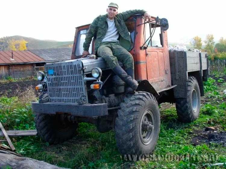 трактор на базе ГАЗ-63